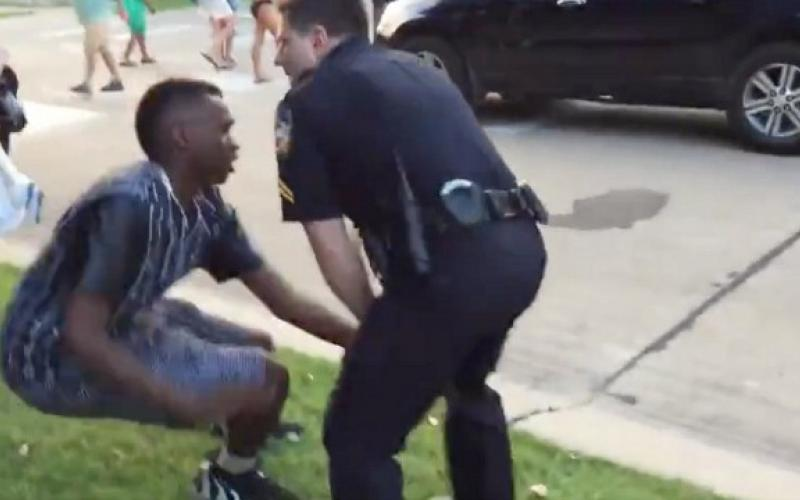 Video shows police officers attacking black teens at pool party news for Public swimming pools in mckinney tx